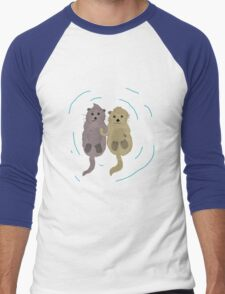 Love One An Otter - V2 Men's Baseball ¾ T-Shirt