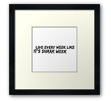 Tracy Quote Framed Print
