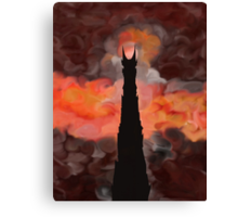 The Tower of Sauron Canvas Print