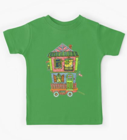 Home is where the heart is... so take it with you if you can! Kids Tee