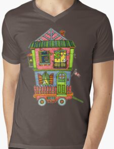 Home is where the heart is... so take it with you if you can! Mens V-Neck T-Shirt
