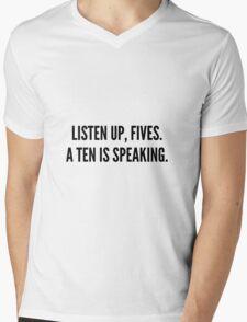 Jenna Quote Mens V-Neck T-Shirt