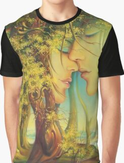 An Encounter at the Edge of the Forest Graphic T-Shirt