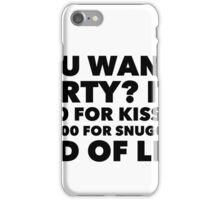 Liz Quote iPhone Case/Skin