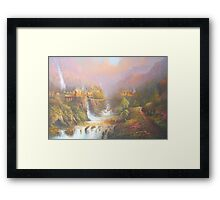 Rivendell A Hobbits Tale Framed Print