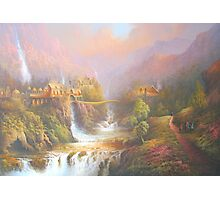 Rivendell A Hobbits Tale Photographic Print