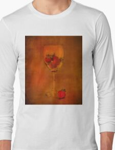 Strawberry Still Life IV Long Sleeve T-Shirt