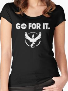 Go for It - Team Valor Women's Fitted Scoop T-Shirt