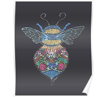 Bee Totem Poster