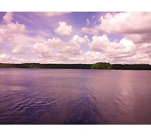 Beautiful Finnish lake scenery Photographic Print