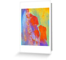 Summer Eucalypt Abstract 22 Greeting Card