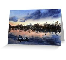 Iron Cove Bay, Sydney Sunset Greeting Card