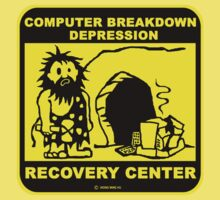 Computer breakdown depression  by NewSignCreation