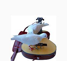 Musical Doves - Ukulele NZ Unisex T-Shirt