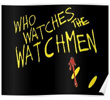 Who Waches the Watchmen Poster