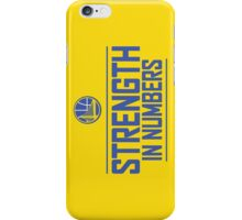GOLDEN STATE WARIOS-STRENGTH IN NUMBERS iPhone Case/Skin