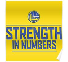 GOLDEN STATE WARIOS-STRENGTH IN NUMBERS Poster