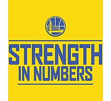 GOLDEN STATE WARIOS-STRENGTH IN NUMBERS Photographic Print