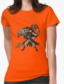 Gajeel Guild mark Womens Fitted T-Shirt