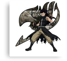 Gajeel Guild mark Canvas Print