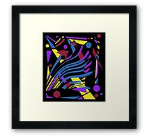 Crazy abstraction Framed Print