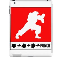Fighter combo iPad Case/Skin