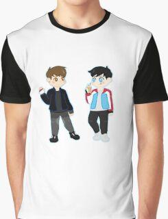 pokémon trainers d&p Graphic T-Shirt