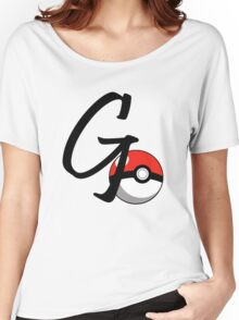 POKEGO GO Women's Relaxed Fit T-Shirt
