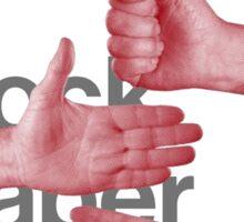 Peter Gabriel Sting Rock Paper Scissors 1 Sticker