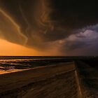 Approaching storm looking the other way by JEZ22