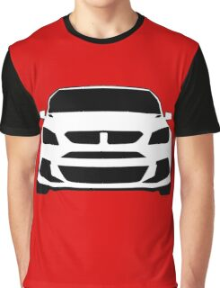 HSV VF GTS Clubsport Front View Design | Tee Shirt / Sticker for Holden Enthusiasts Graphic T-Shirt