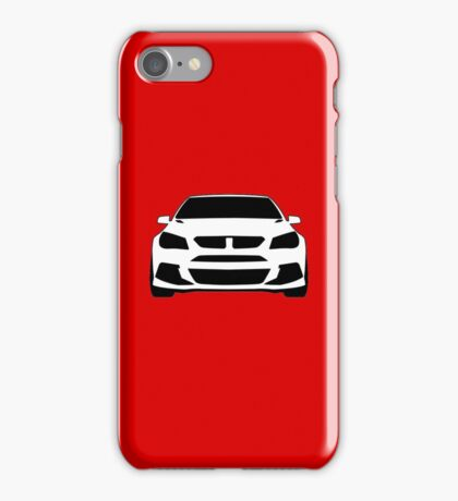 HSV VF GTS Clubsport Front View Design | Tee Shirt / Sticker for Holden Enthusiasts iPhone Case/Skin