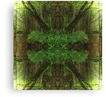Forest Mandala Canvas Print