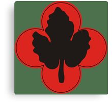 """43rd Infantry Division """"Winged Victory"""" (United States - Historical)  Canvas Print"""