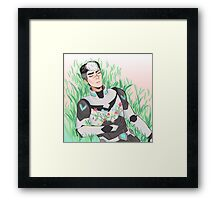 Shiro - Voltron Framed Print