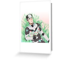 Shiro - Voltron Greeting Card