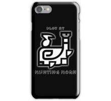 Monster Hunter Hunting Horn iPhone Case/Skin