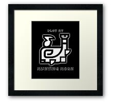 Monster Hunter Hunting Horn Framed Print