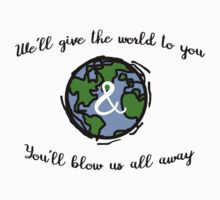 Hamilton Dear Theodosia - We'll Give the World to You and You'll Blow Us All Away Kids Tee