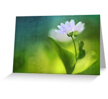 Above all, infinity...  Greeting Card