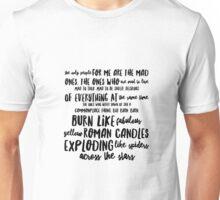 Kerouac Unisex T-Shirt