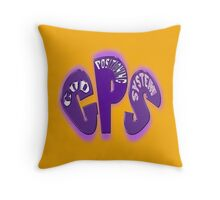 automatic, always on GPS Throw Pillow