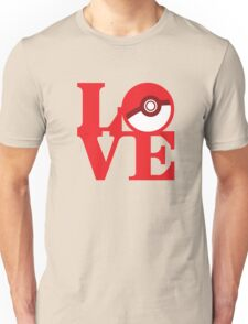 Love Pokemon Unisex T-Shirt