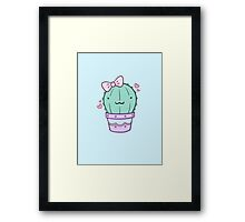Cactus Cutie Framed Print