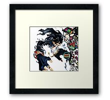 ikki air gear Framed Print