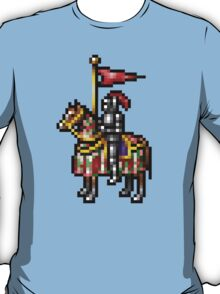 Heroes of Might and Magic Knight Retro Pixel DOS game fan shirt T-Shirt