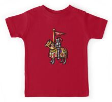 Heroes of Might and Magic Knight Retro Pixel DOS game fan shirt Kids Tee