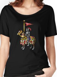 Heroes of Might and Magic Knight Retro Pixel DOS game fan shirt Women's Relaxed Fit T-Shirt