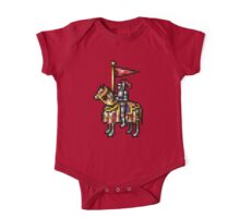 Heroes of Might and Magic Knight Retro Pixel DOS game fan shirt One Piece - Short Sleeve