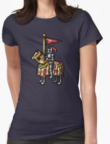 Heroes of Might and Magic Knight Retro Pixel DOS game fan shirt Womens Fitted T-Shirt